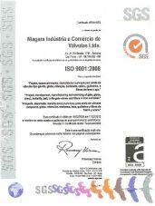 Certificado - Políticas de Qualidade Niagara