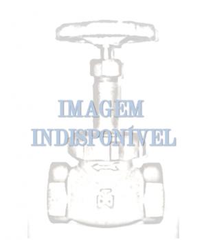 Fig 9 - Válvula globo bronze classe 200 com rosca - anel e disco em aço inox - Niagara