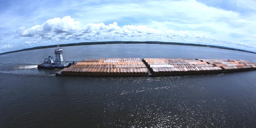 Exportação de válvulas gaveta WCB para barcaças de transporte de petróleo
