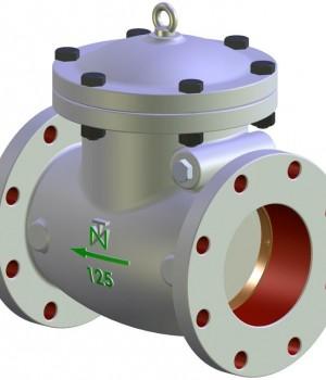 Fig 265 - Válvula retenção portinhola de ferro fundido padrão ANSI - Niagara