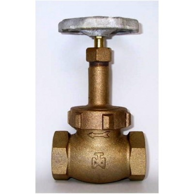 Fig 1 - Válvula globo bronze classe 300 com rosca - anel e disco em aço inox