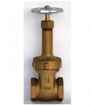 Fig 216 - Válvula gaveta bronze classe 200 com rosca - haste ascendente - Niagara