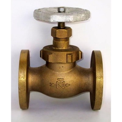 Fig 256 - Válvula globo classe 150 flangeada ANSI ou DIN fecho cônico de bronze