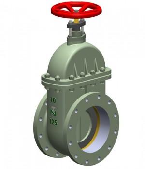 Fig 160 - Válvula gaveta Ferro Fundido Padrão ABNT / DIN - Niagara