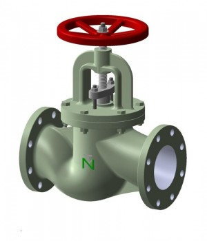 Fig 230 - Válvula globo ferro fundido classe PN16 flange DIN - Niagara