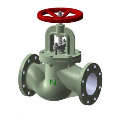Fig 230 - Válvula globo ferro fundido classe PN16 flange DIN