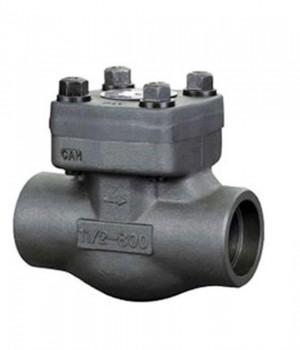 Fig. 755 - Válvula de Retenção tipo pistão aço forjado roscado (BSP/NPT) ou encaixe para solda (SW) - Niagara
