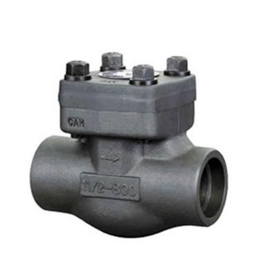 Fig. 755 - Válvula de Retenção tipo pistão aço forjado roscado (BSP/NPT) ou encaixe para solda (SW)