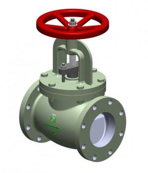 Fig 260 - Válvula globo ferro fundido classe 125 flange ANSI - haste ascendente - Niagara