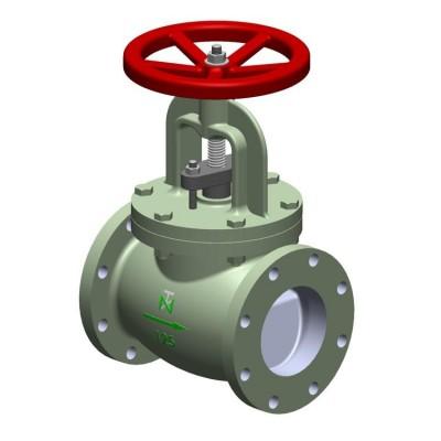 Fig 260 - Válvula globo ferro fundido classe 125 flange ANSI - haste ascendente