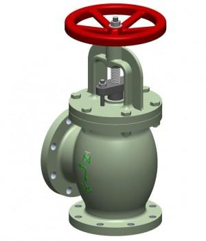 Fig 261 - Válvula angular Ferro Fundido classe 125 - Niagara
