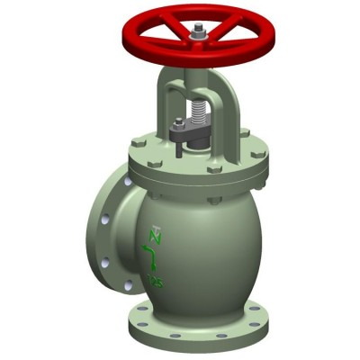 Fig 261 - Válvula angular Ferro Fundido classe 125