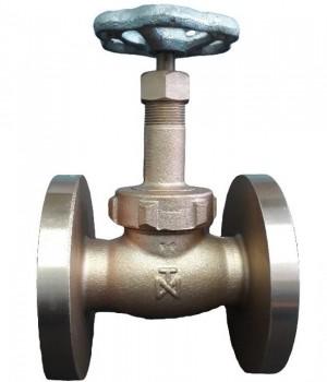 Fig 1 FL - Válvula globo bronze classe 300 flange ANSI - disco e anel em aço inox - Niagara