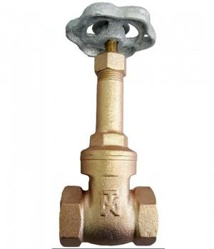 Fig 218 - Válvula gaveta bronze classe 150 com rosca - haste ascendente - Niagara