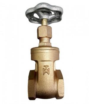 Fig 271 - Válvula gaveta bronze classe 150 com rosca - haste não ascendente - Niagara