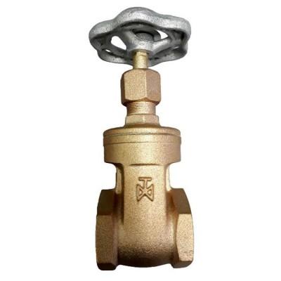 Fig 271 - Válvula gaveta bronze classe 150 com rosca - haste não ascendente
