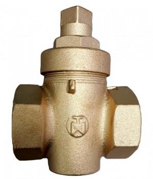 Fig 322 - Válvula macho  bronze com rosca - Niagara