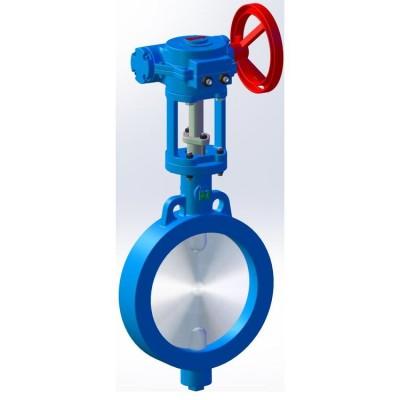 Fig 790 - Válvula borboleta tipo wafer para aplicação gases, água, vapor baixa pressão e temperatura