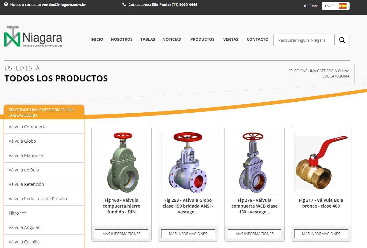 Nosso site agora em Espanhol !