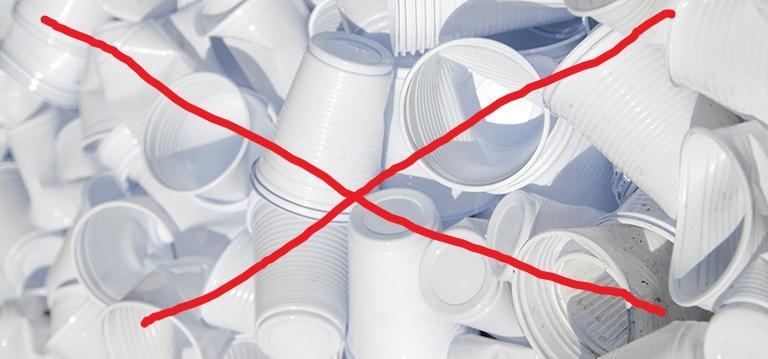 Eliminando copos plásticos descartáveis!
